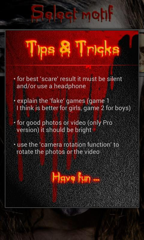 Scare Joke HD Pro (Prank)- screenshot