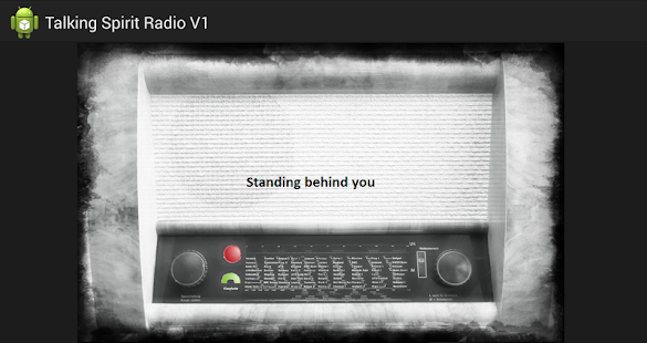 App Talking Spirit Box Radio EVP APK for Windows Phone