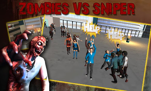Zombie Sniper Attack - 3D Game