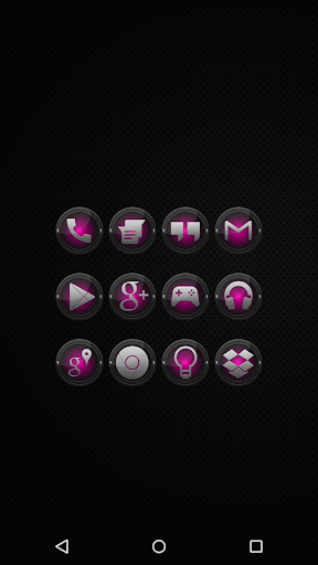 Black and Pink - Icon Pack