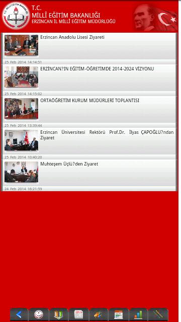 Erzincan İl MEM - screenshot