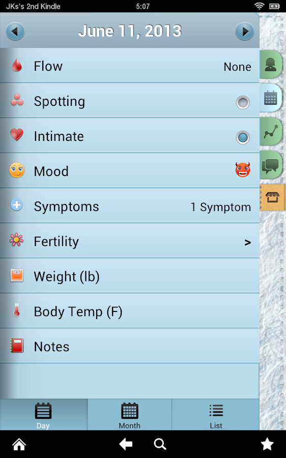 Period Tracker Pro (Pink Pad)- screenshot