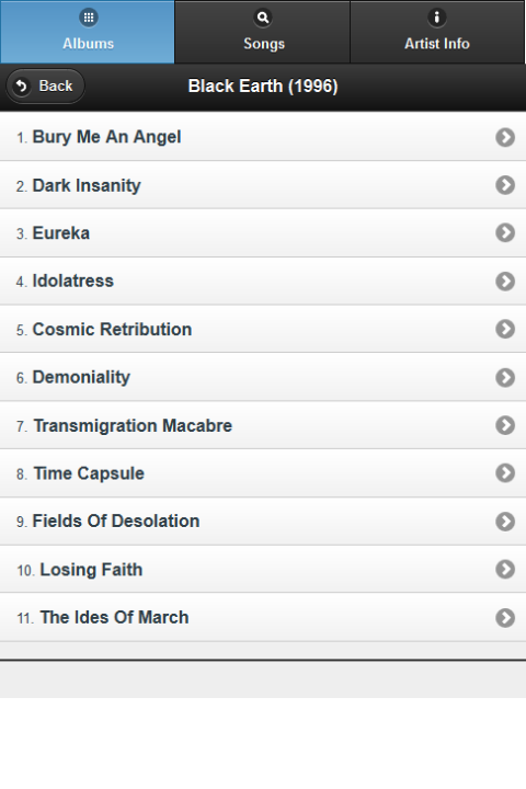 Arch Enemy All Lyrics - screenshot