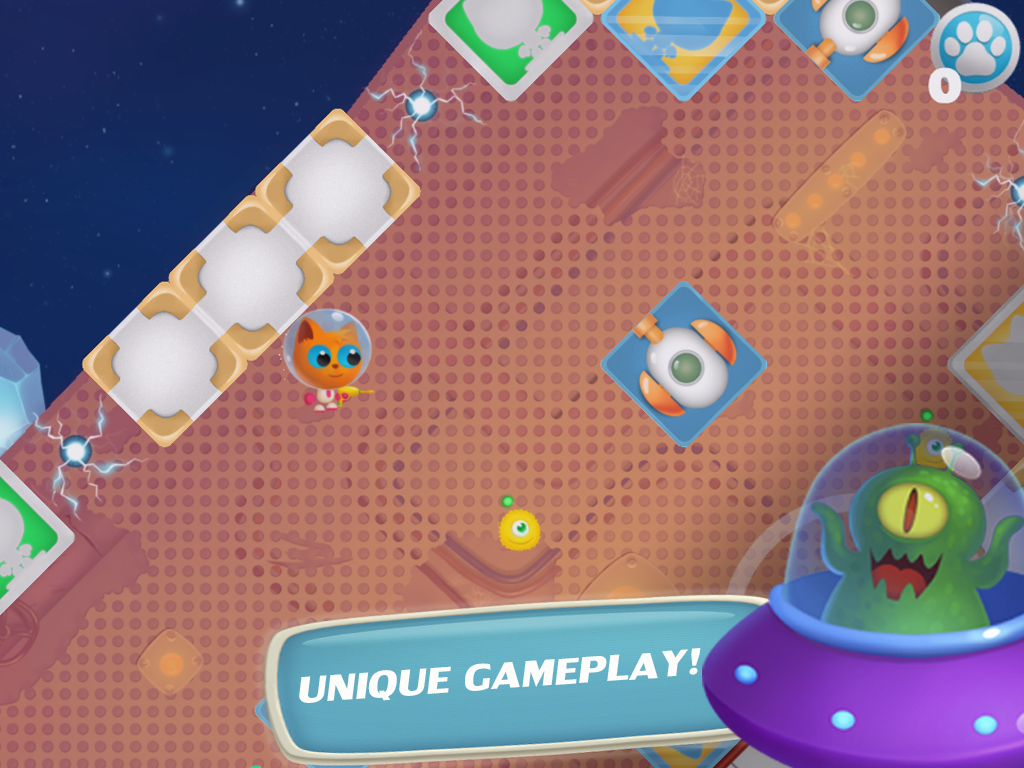 Space Kitty Puzzle- screenshot