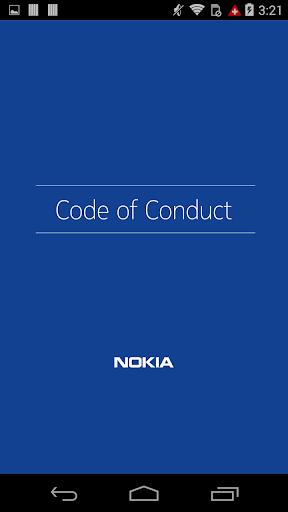 Nokia Code of Conduct 1.0.0 screenshots 1