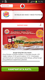 Vodafone Avantaj Cepte - screenshot thumbnail