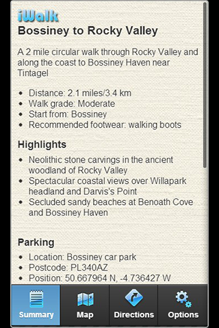 iWalk Bossiney to Rocky Valley