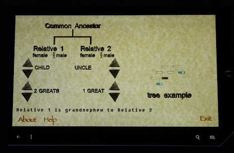 Genealogy Relationship Decoder- screenshot thumbnail