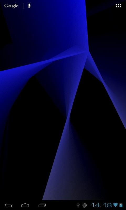 Abstract Live Wallpaper - screenshot