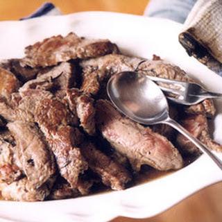 Seasoned, Sliced Grilled Beefsteak