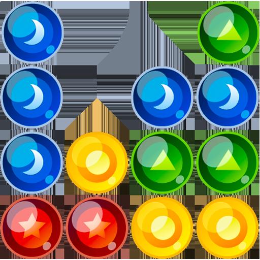 休闲のクラシック bubble breaker LOGO-記事Game