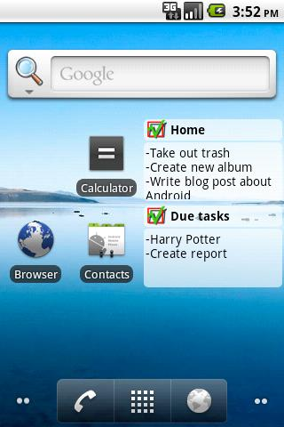 NextAction - screenshot