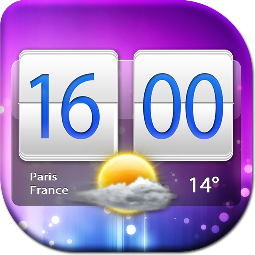 天气の時計と天気ウィジェット LOGO-HotApp4Game