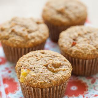 Nectarine Oat Bran Muffins
