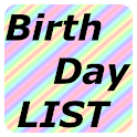 Birthday LIST logo