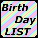 Birthday LIST logo