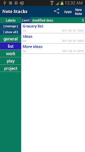 Note Stacks: Notepad Notebook - screenshot thumbnail