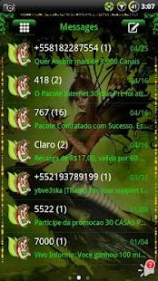Fairy GO SMS Theme