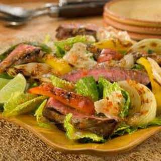 Fajita Steak Salad.