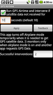 GPS Airtime - screenshot thumbnail