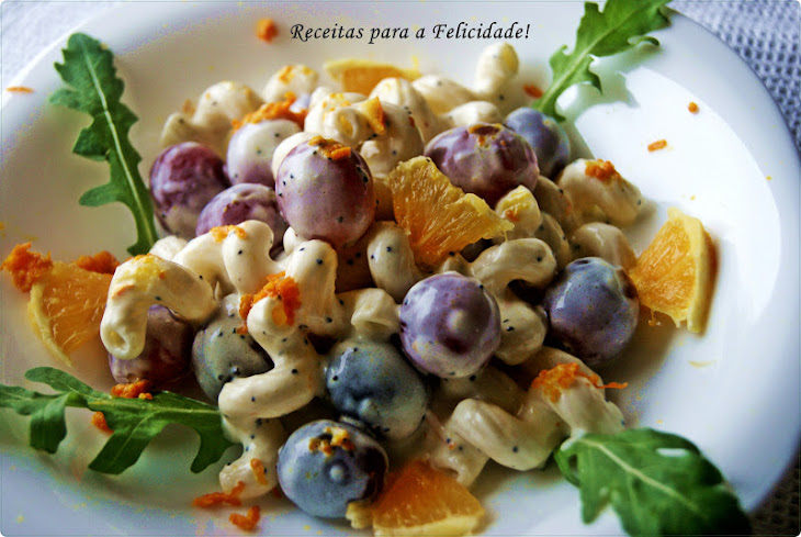 Spiral Pasta with a Touch of Orange Recipe
