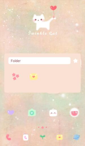 無料个人化Appのtwinkle cat dodol theme|記事Game