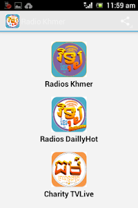 Radio Khmer screenshot 1