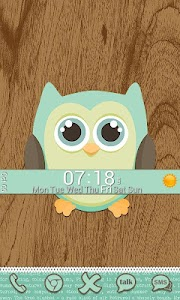 Go Launcher Themes: Hoot screenshot 5