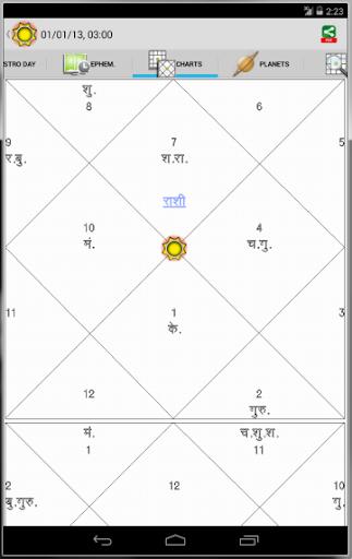 Horoscope Hindi (Supersoft Prophet)  screenshots 13