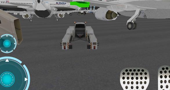 Ultra 3D airport car parking - screenshot thumbnail