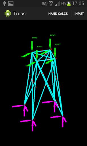 3D Truss - Hand Analysis