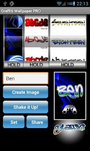 Graffiti Wallpaper Maker PRO - screenshot thumbnail