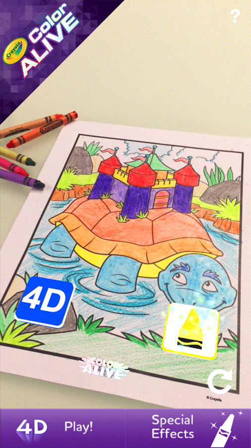 Online Colouring Pages For 7 Year Olds : Crayola color alive android apps on google play