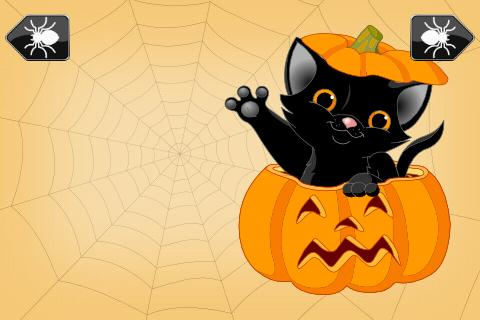 Kids Shape Puzzle Halloween- screenshot