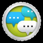 Voice balloon photo icon