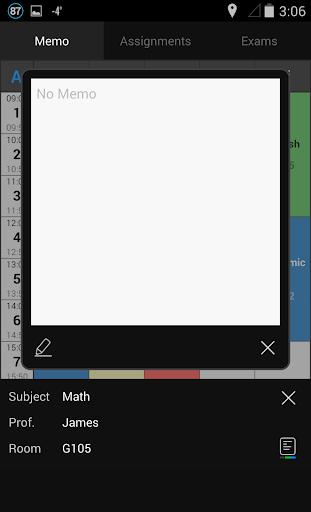 Handy Timetable 2.4.0 screenshots 3