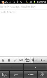 Tap keyboard (morse code)- screenshot thumbnail