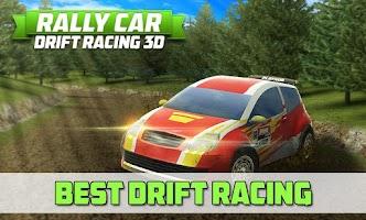 Screenshot of Rally Car Drift Racing 3D