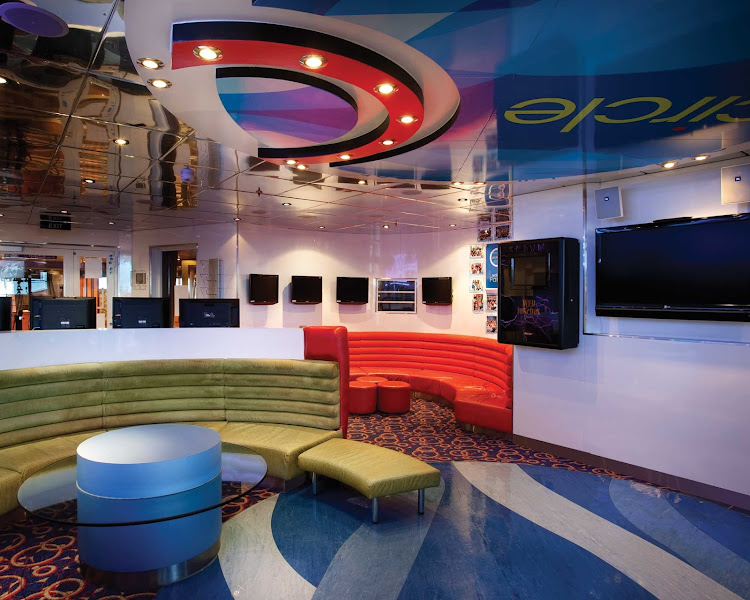 Youths Ages 12 To 14 Head To Circle C On Carnival Valor To