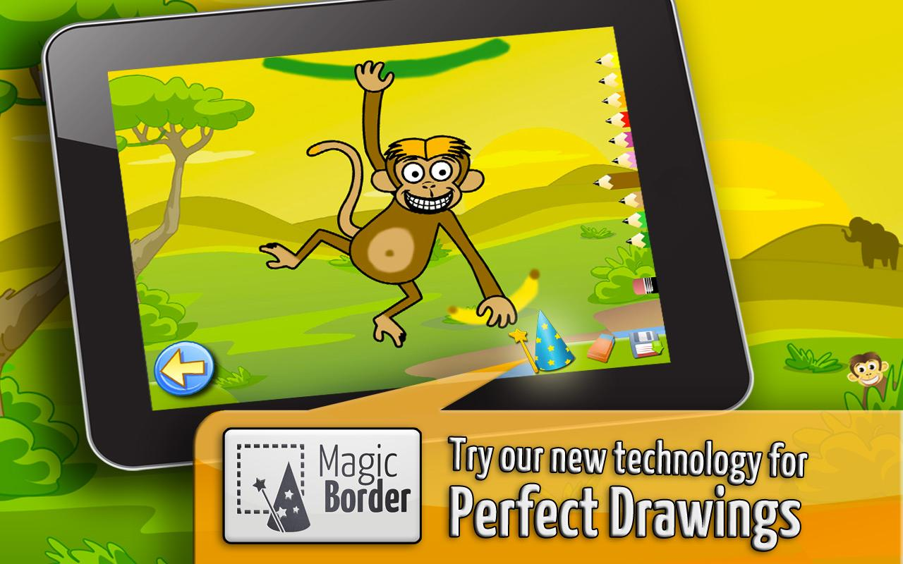 Savanna - Coloring Games Kids- screenshot