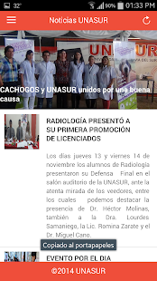 UNASUR- screenshot thumbnail