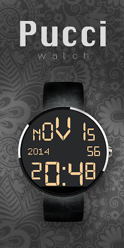 Moto 360 Digital Black Yellow