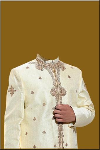 Indian Man Sherwani Photo Suit