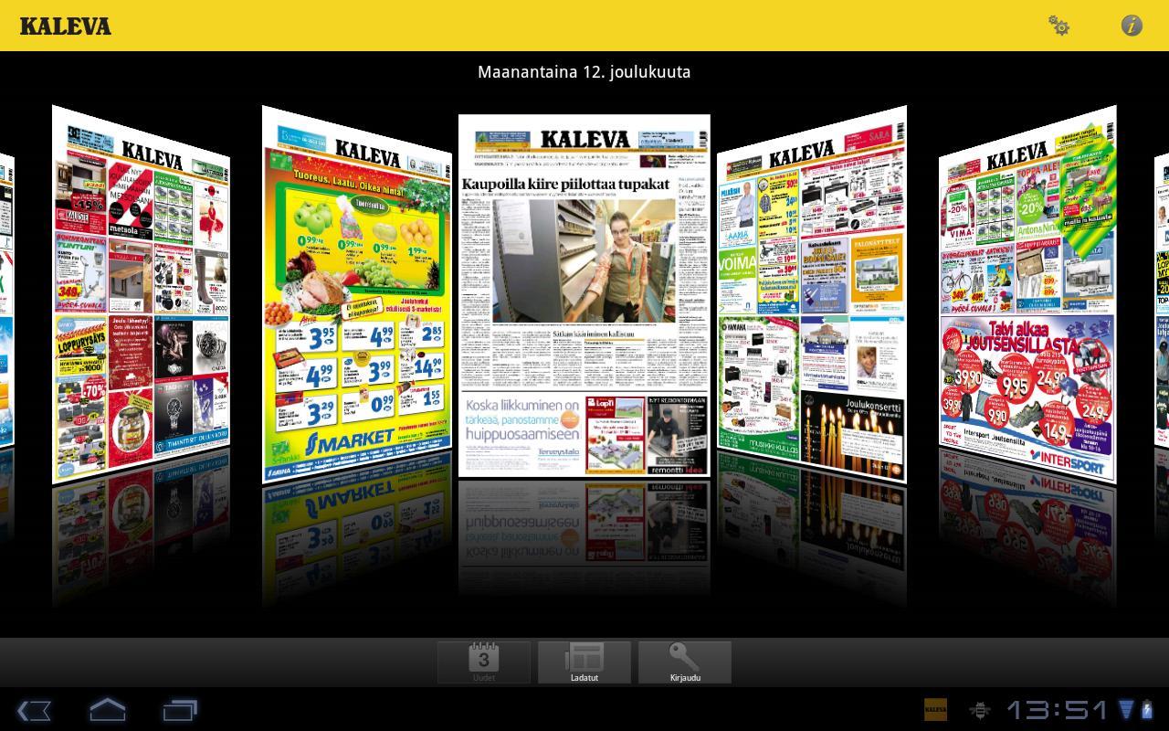 Kaleva- screenshot