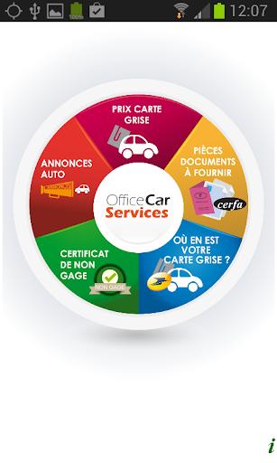 E-carte grise services