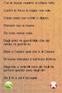 Proverbi Italiani - screenshot thumbnail