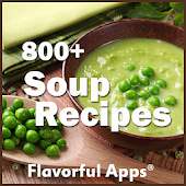 800+ Soup Recipes | No Ads