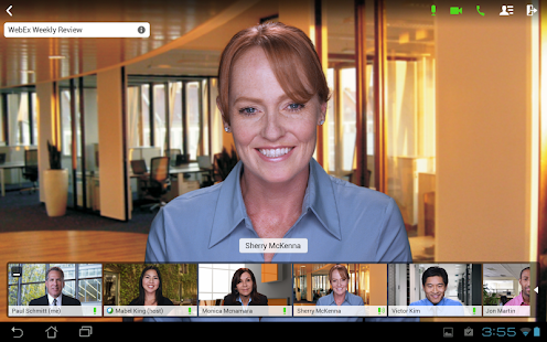 Cisco WebEx Meetings- screenshot thumbnail