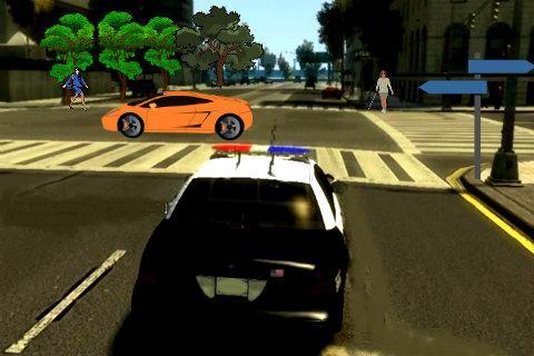 Police Car HD