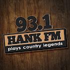 93.1 Hank FM icon